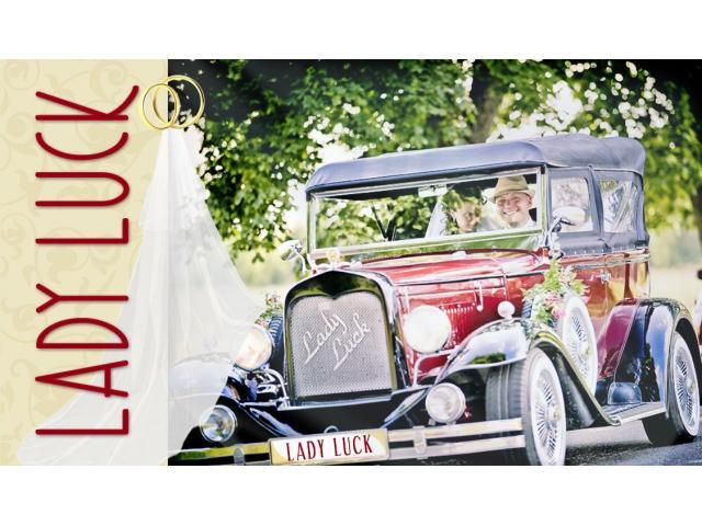 Samochód do ślubu Lady Luck - Pani Szczęścia