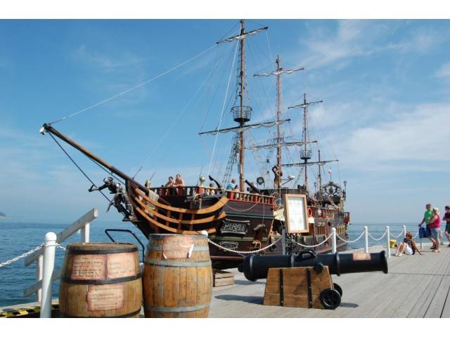 Statek Pirat Sopot - wyznacz z nami kurs na dobrą zabawę!