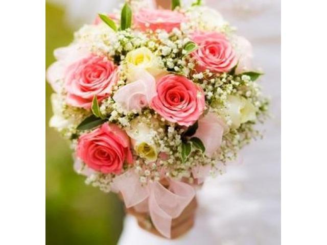 Wiązanka ślubna, Kwiaty na stoły weselne, na chrzciny, komunię,woj.Mazowieckie
