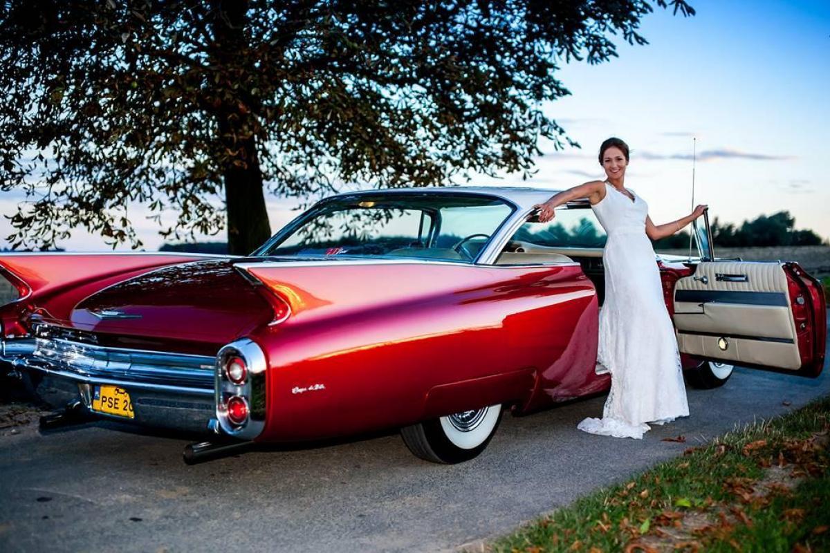 Cadillac, Mustang, Klasyk, Kabriolet Do Ślubu, Na Wesele Retro
