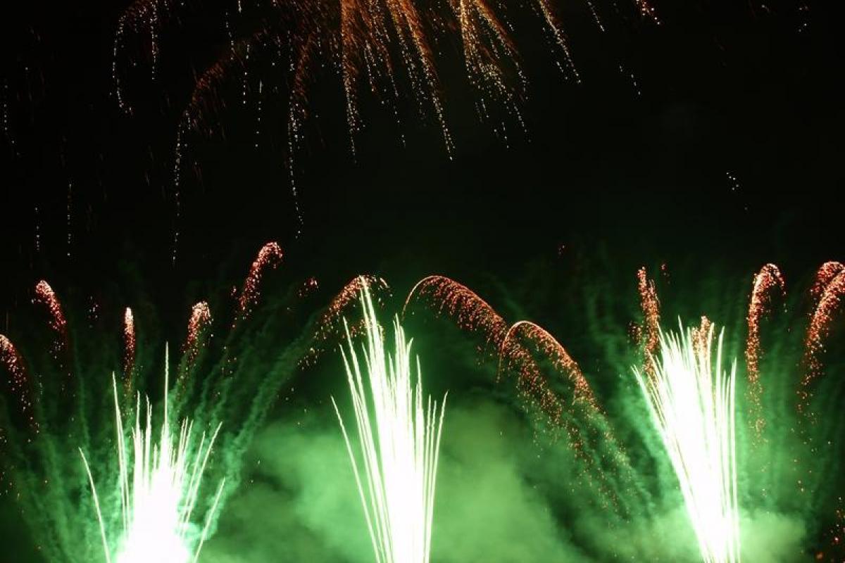 Pokazy pirotechniczne, fajerwerki, pokazy sztucznych ogni