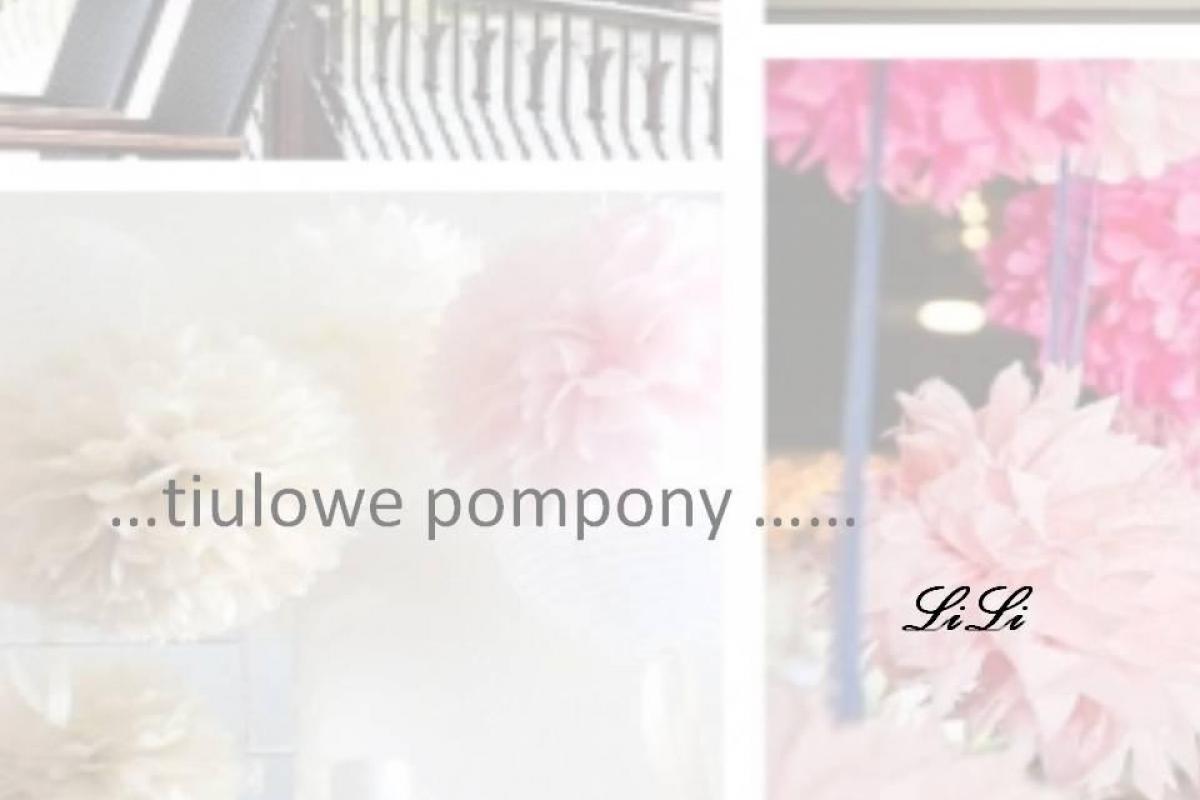 Pompony Tiulowe LiLi