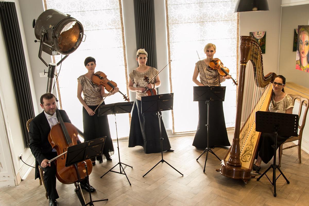 kwartet smyczkowy Prestige (harfa opcjonalnie)