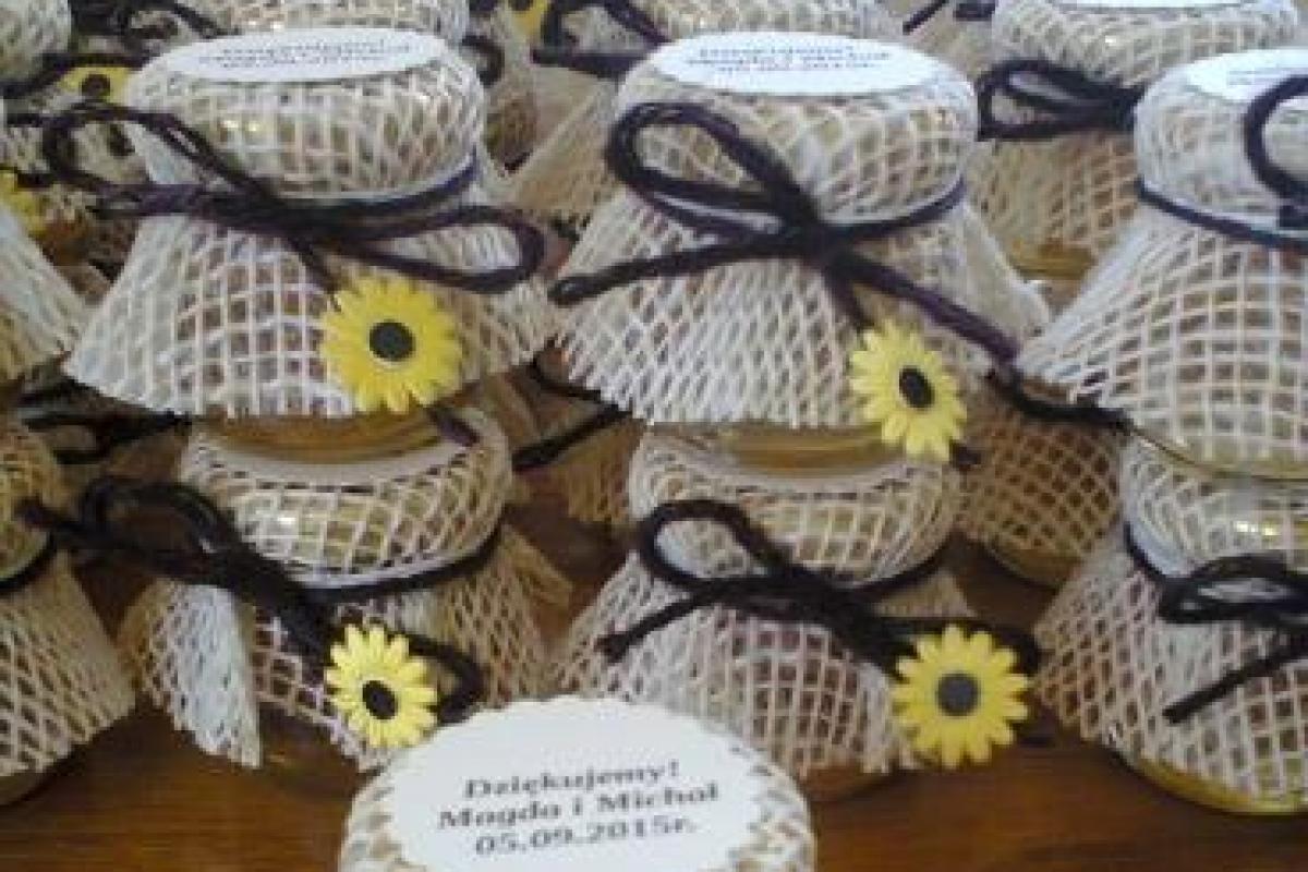 Miodek weselny - prezent dla gości