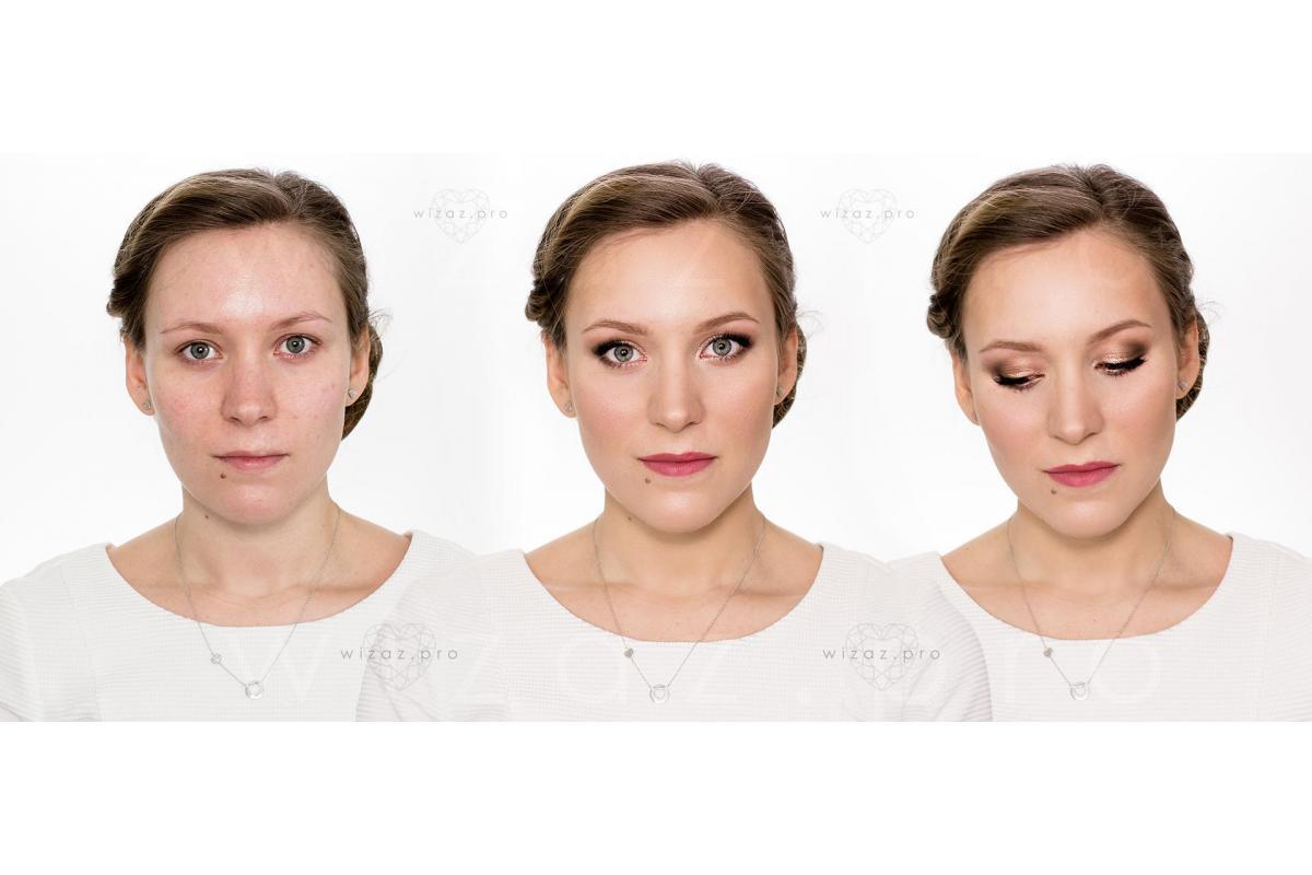 Makijaż ślubny Kraków Wizaż.PRO Make-up Artist Monika Mitraszewska