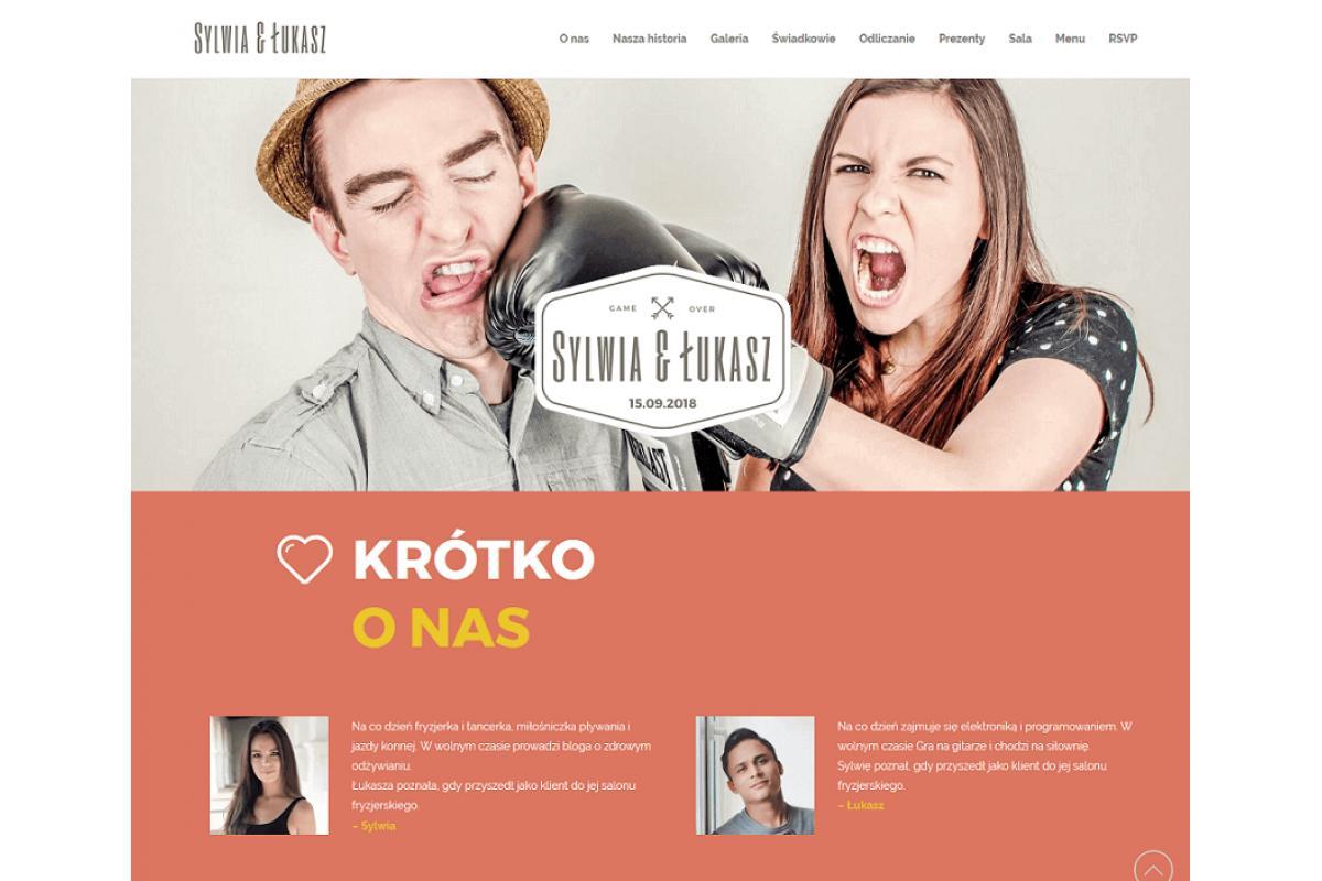 Weselne strony internetowe