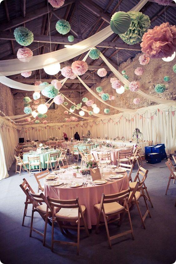 trendy w dekorowaniu sal weselnych