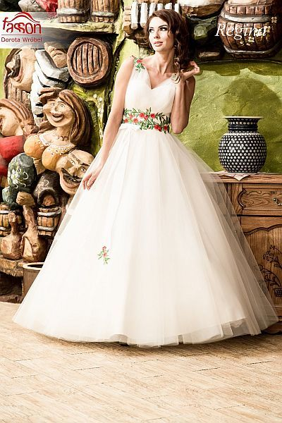 ślub w stylu folk