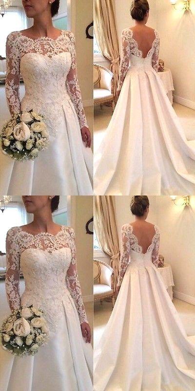 Koronka na rękawach sukni ślubnej